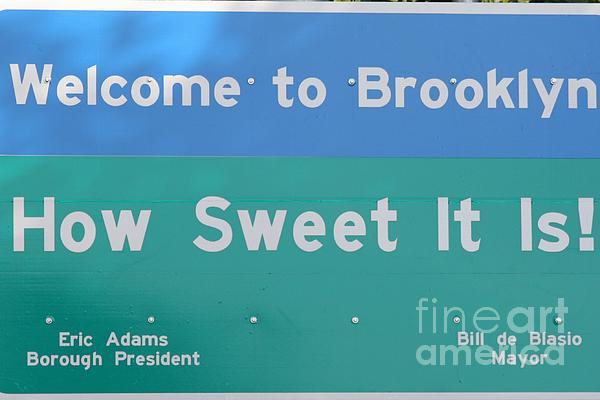 John Telfer - Iconic Welcome To Brooklyn Sign