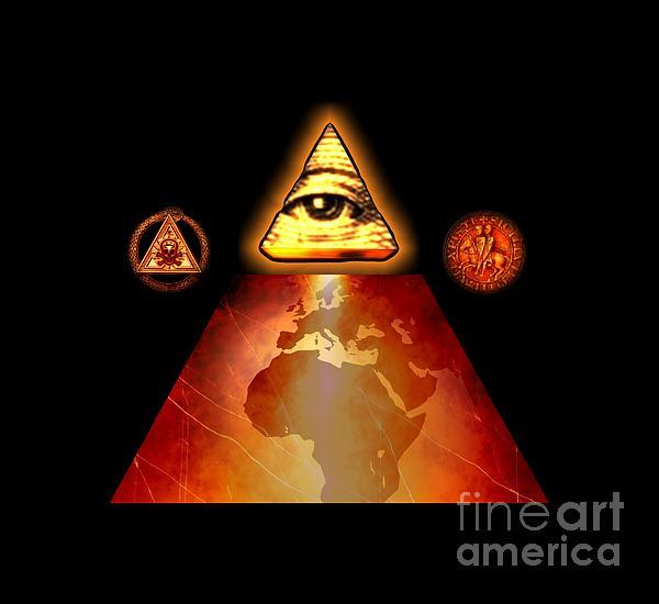 Illuminati World By Pierre Blanchard Painting