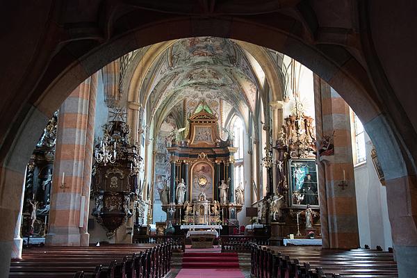Nicola Simeoni - In the Gothic-Baroque church