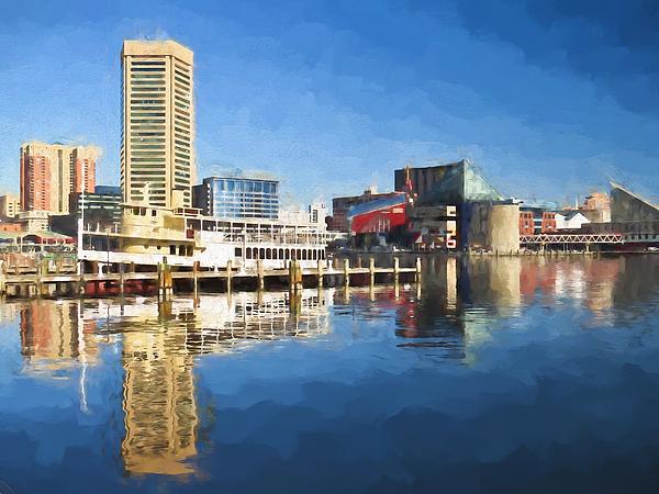 Kerri Farley - Inner Harbor Reflections