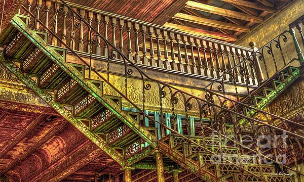 Reid Callaway - IronWorks Stairs Historic Interior Design Art