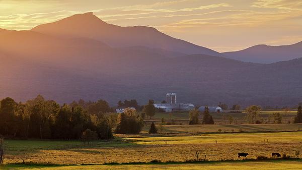 Alan L Graham - Jay Peak September Sunset
