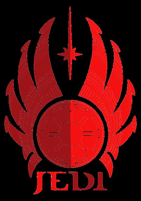 Jedi Symbol Star Wars Art Red Onesie For Sale By Studio Grafiikka
