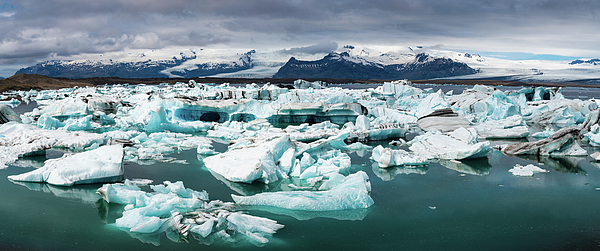 Matthias Hauser - Jokulsarlon Glacier Lagoon Iceland Panorama