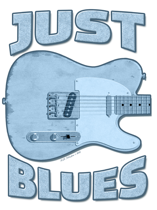 Just Blues Shirt Shower Curtain For Sale By Wb Johnston