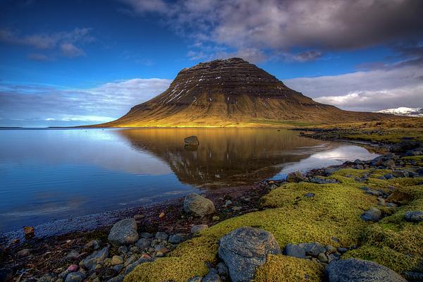 Mike Deutsch - Kirkjufell Reflection, Iceland