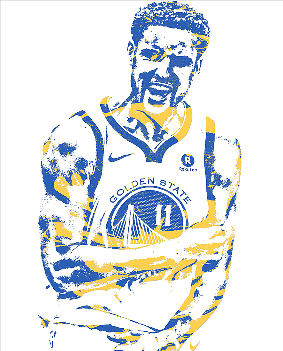 115d39058 ... Klay Thompson Golden State Warriors Pixel Art 25. Boundary  Bleed area  may not be visible.