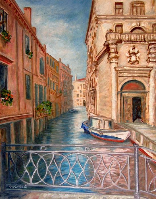 Helen Sviderskis - Charming Lacy Bridge of Venice