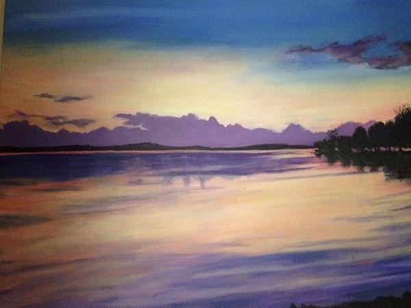 Barbara Remensnyder - Lake View Sunset
