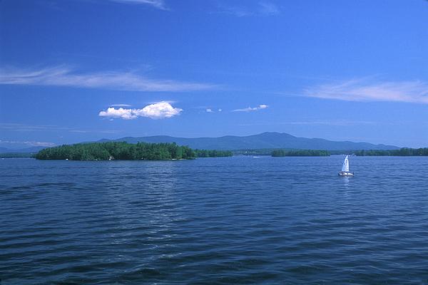 John Burk - Lake Winnipesaukee Summer Day