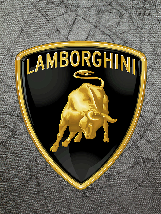 Lamborghini logo fleece blanket for sale by daniel hagerman boundary bleed area may not be visible voltagebd Gallery
