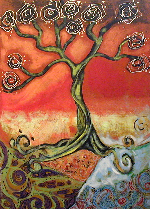 Paula R ANDERSON - Large Painting