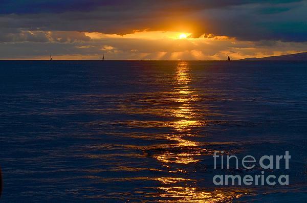 Mary Deal - Late Evening Sunset Waikiki Hawaii - 21