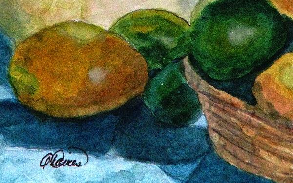 Angela Davies - Lemons And Limes