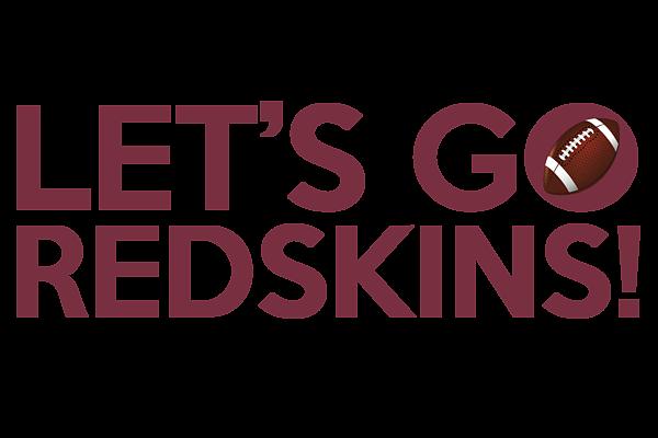 89db3dd6 Let's Go Redskins Men's T-Shirt (Athletic Fit)