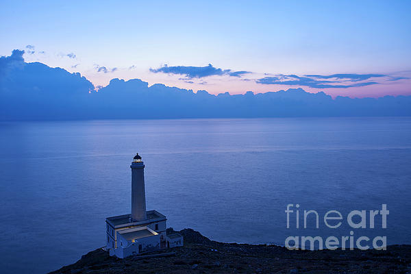 Massimo Leo - Lighthouse on the sunrise