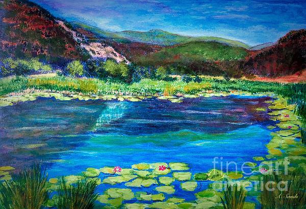 Anne Sands - Lily pond Colorado