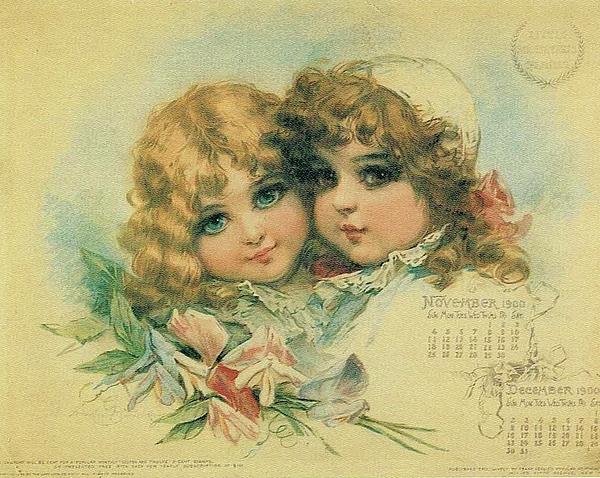 Reynold Jay - Little Sweethearts Calendar 3