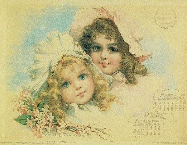 Reynold Jay - Little Sweethearts Calendar 1