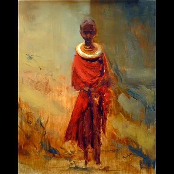 Joyce Snyder - Lone African Girl
