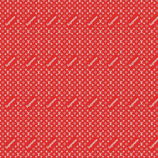Supreme Louis Vuitton Wallpaper: Louis Vuitton Supreme Red Beach Sheet For Sale By Vadim Pavlov