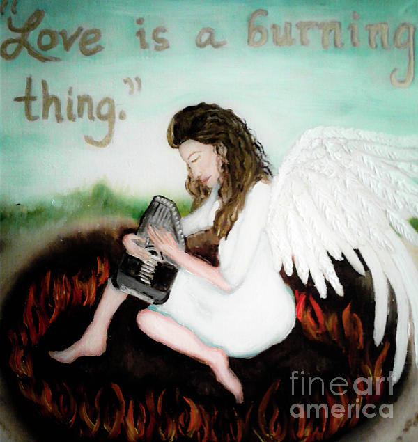Wendy Wunstell - Love is a burning Thing