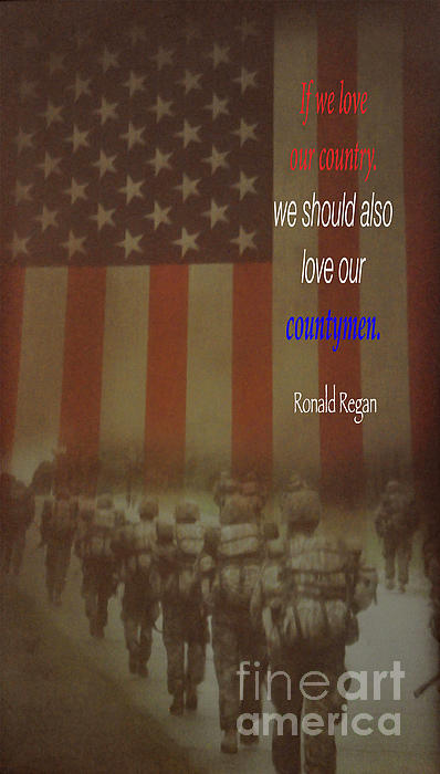 Debby Pueschel - Loving our Countrymen