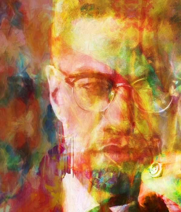 Malcolm X Shower Curtain For Sale By Dan Sproul