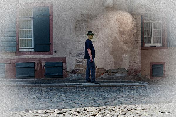 Yuri Lev - Man in Black, Freiburg Germany