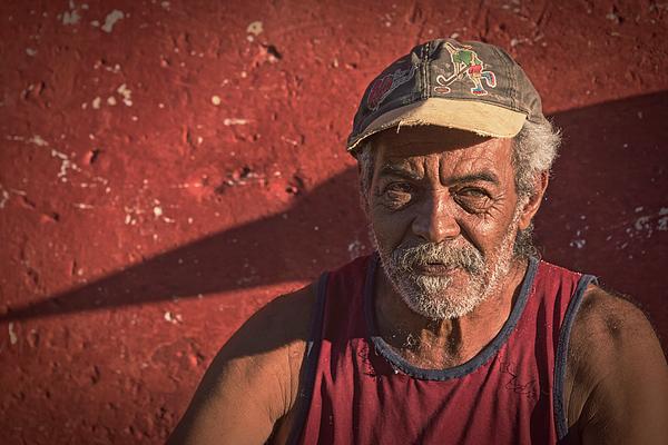 Joan Carroll - Man in Trinidad Cuba