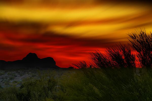 Marana Sunset H01 Photograph