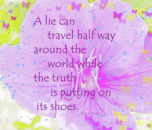 Debby Pueschel - Mark Twain Truth and Lie