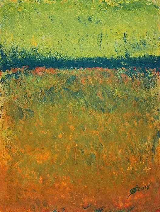 Sol Luckman - Marsh Light original painting