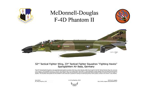 Arthur Eggers - McDonnell Douglas F-4D Phantom II