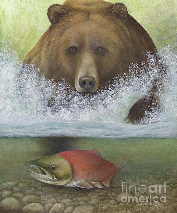 David VandenBos - McNeil River Salmon Run