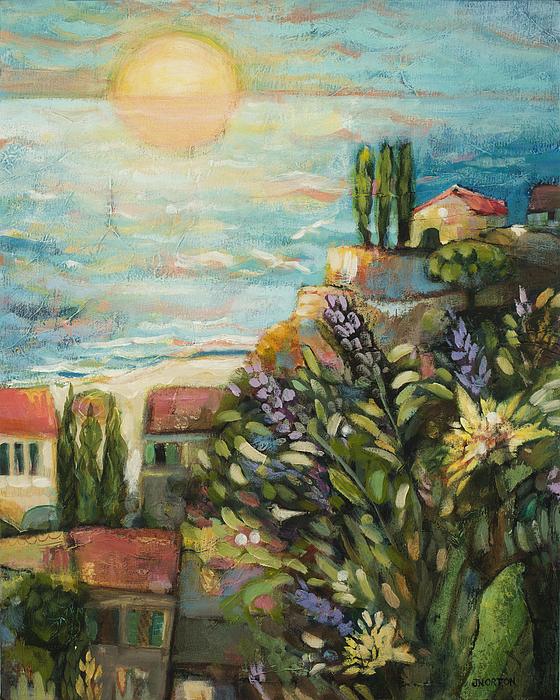 Mediterranean Seascape 3 by Jen Norton b2004d0b791da