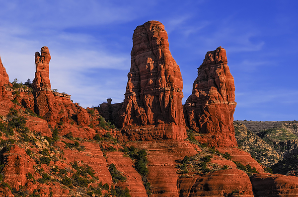Megalithic Red Rocks Photograph