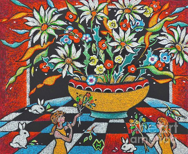 Heather McFarlane-Watson - Mexican Vase with Spring Flowers