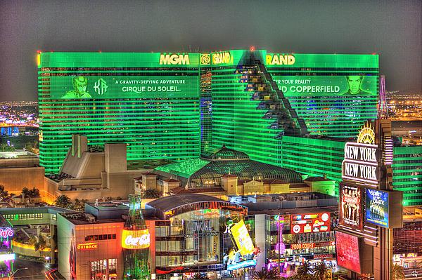 MGM Grand Las Vegas Tote Bag for Sale by Nicholas Grunas
