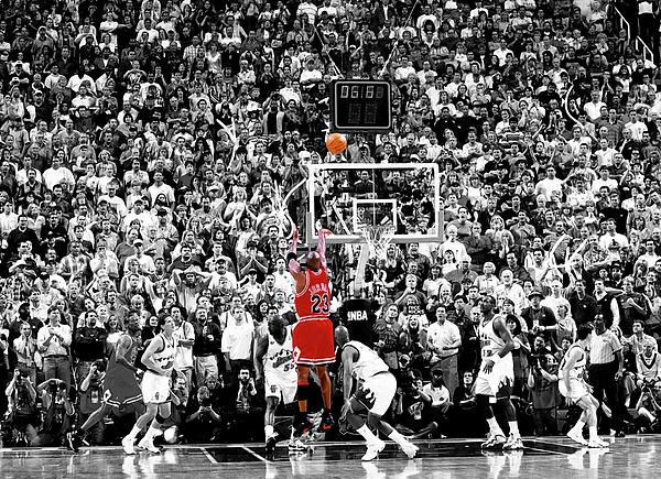 Elite Editions - Michael Jordan Chicago Bulls A Shot for the Ages