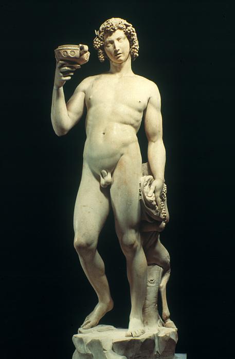 Michelangelo: Bacchus Beach Sheet for Sale by Granger