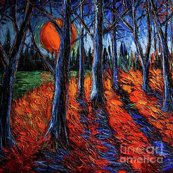 Mona Edulesco - Midnight Sun Wood 2