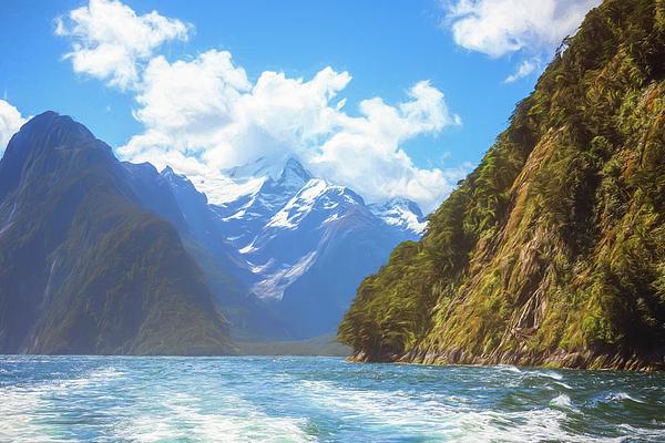 Joan Carroll - Milford Sound Fiordland New Zealand Artistic