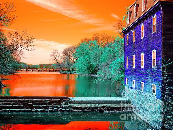 John Rizzuto - Millstone River Pop Art