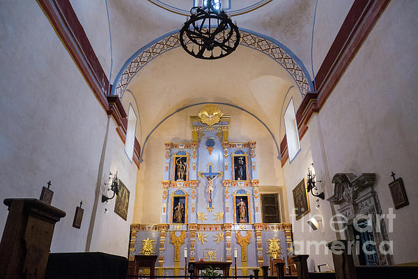 Wayne Moran - Mission San Jose Interior