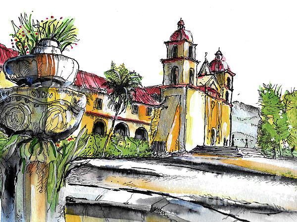 Terry banderas artist website for Case in stile missione santa barbara
