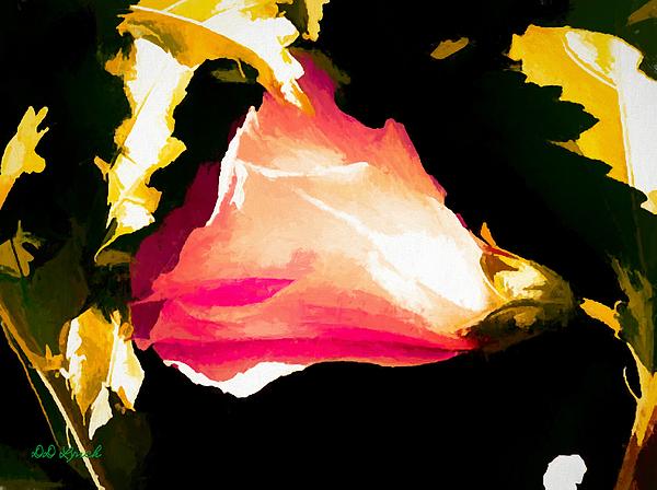 Debra Lynch - Molten Gold Hibiscus Flower