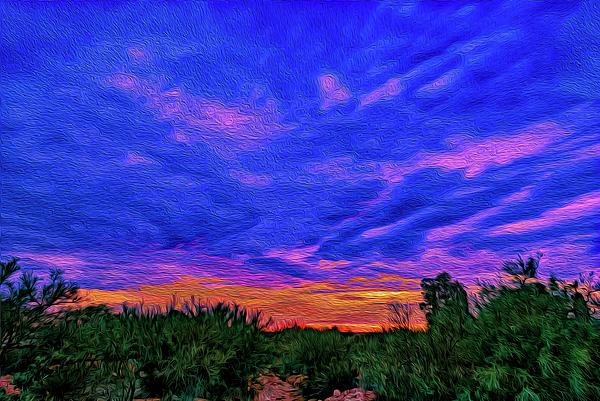 Monsoon Sunset Op44 Photograph