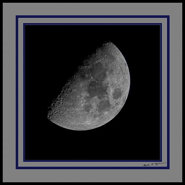 Moon 61 Percent Photograph