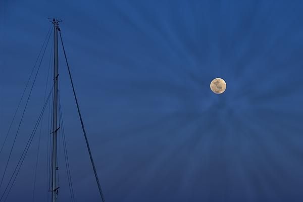 Kay Brewer - Moon Over the Mast